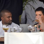 Drinks at Kanye West and Kim Kardashian's Wedding photo