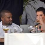 Drinks at Kanye West and Kim Kardashian's Wedding photo