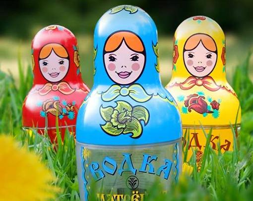 Wacky Vodka Bottle Designs photo