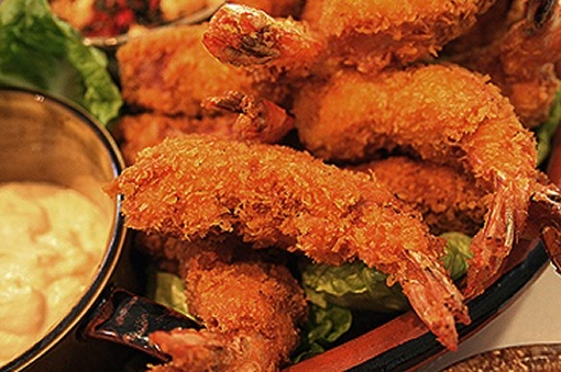 Panko Crumbed Prawns for the weekend photo