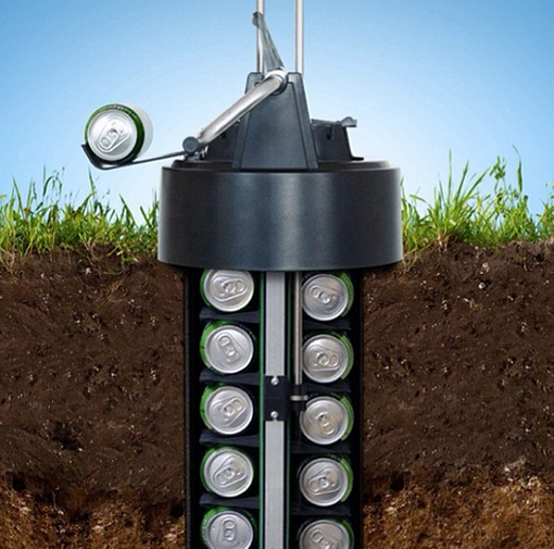 This Earth Cooler Chills Your Beer Underground, Without Electricity photo