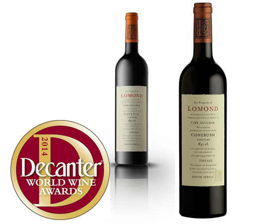 Lomond wine shines gold at the international Decanter wine awards photo