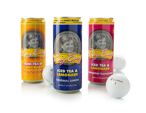 Celebrate Iced Tea day with Ernie Els`s new sparkling Big Easy Iced Tea and Lemonade range photo