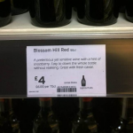 Prankster replaces wine labels with hilarious alternatives photo