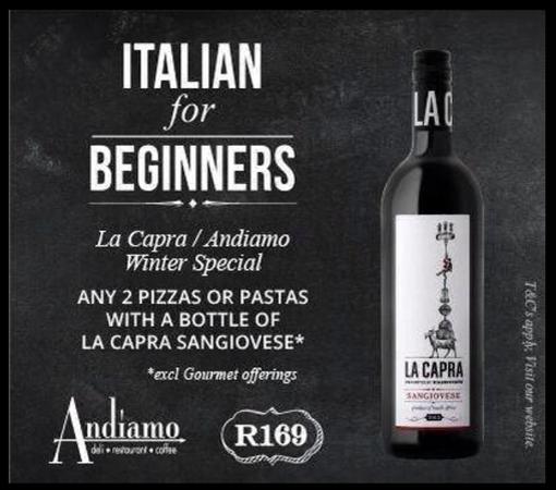 Italian for Beginners – La Capra and Andiamo photo