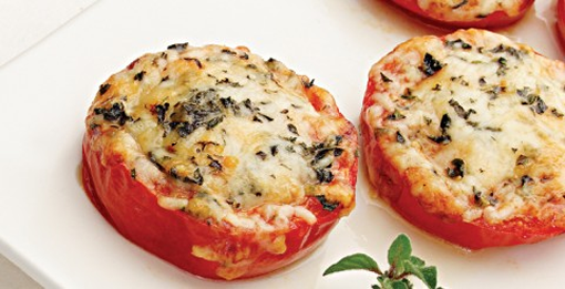 Baked Parmesan Tomatoes photo