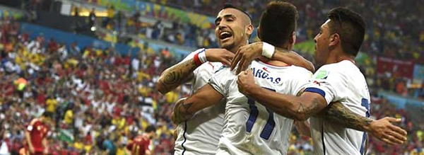 Chile Soccer Victory a Win for Wine and Beer Sales photo
