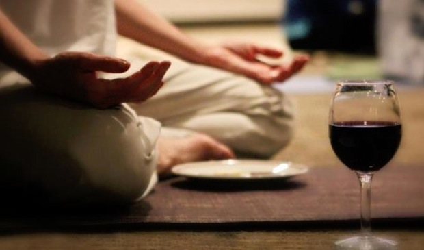 Yoga and Wine photo