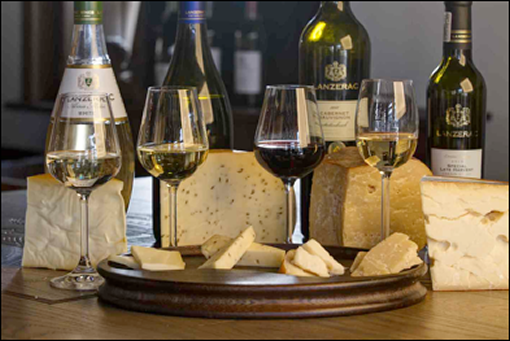 Scrumptious Cheese and Wine Tastings at Lanzerac Estate photo