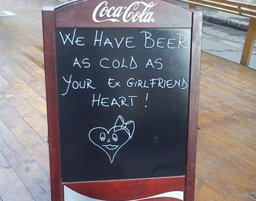 The most hilarious bar signs photo