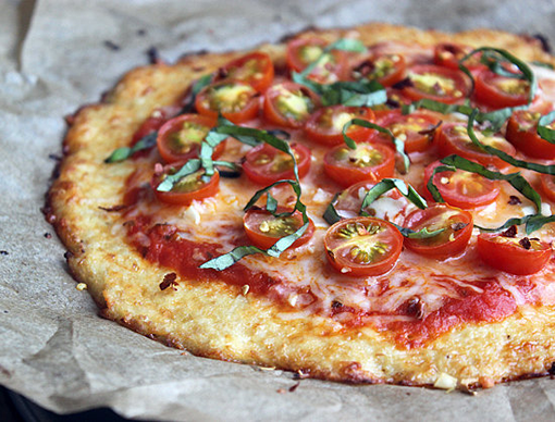 Making Pizza with a Cauliflower Crust photo