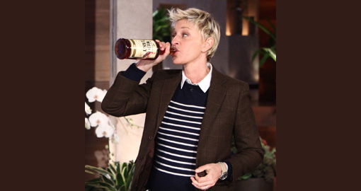 Ellen DeGeneres gives up alcohol photo