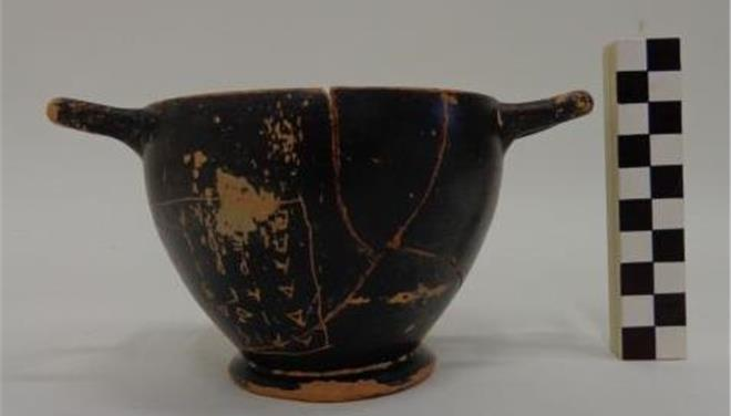 Wine cup used by Pericles found in grave north of Athens photo
