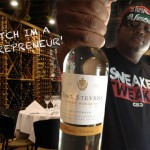 California rapper E-40 has become the surprise toast of the wine world photo