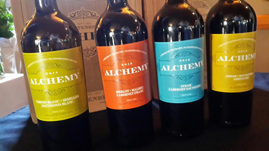 Alchemy Syrah, Mourvedre and Grenache Blend 2013, niche, but perfect for winter photo