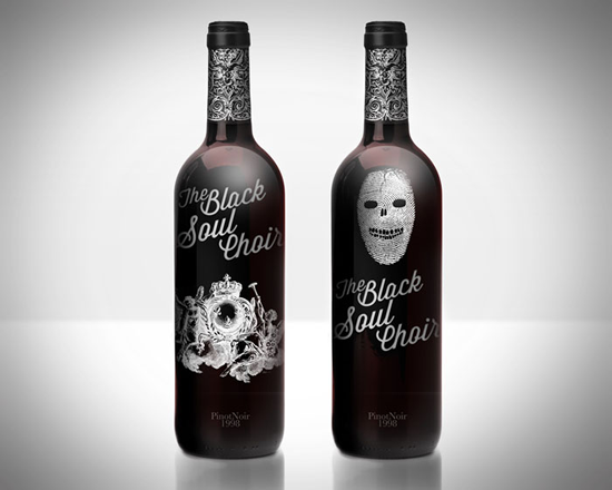 Packaging Spotlight: The Black Soul Choir Wine photo