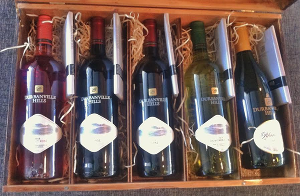 Win a Chocolate and Wine hamper from Dubanville Hills photo