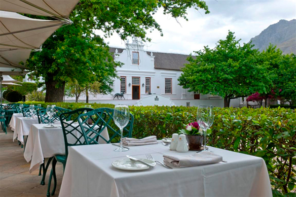 Dine in the Vine with Lanzerac photo
