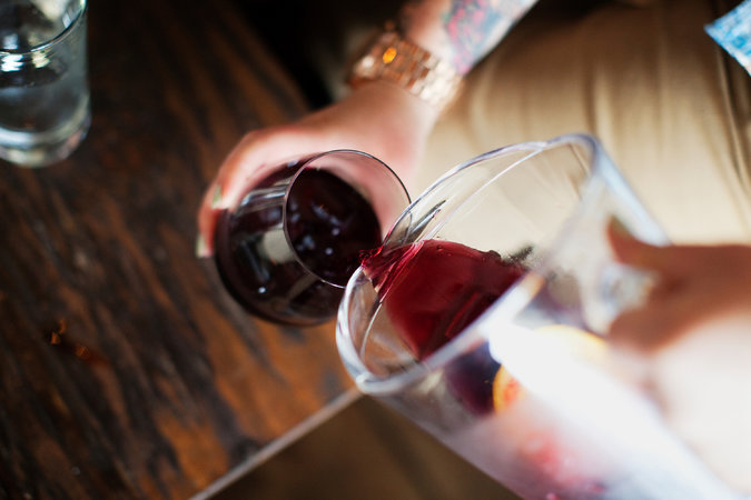 Students raise a glass to the business of wine photo