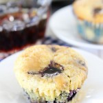 Decadent Blueberry Pancake Cupcakes photo