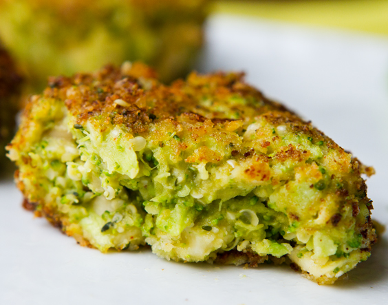 Cheesy Quinoa Cakes Recipe