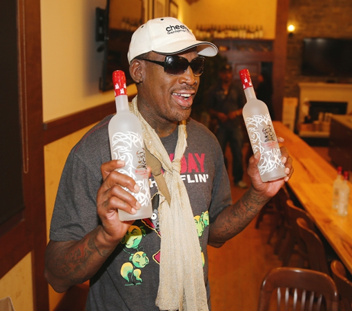 Dennis Rodman brings out his own Bad Ass Vodka photo