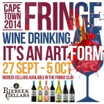 Catch Riebeek Cellars at the Cape Town Fringe Festival photo