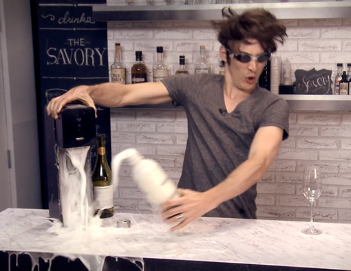 What Happens When You Put Wine in a SodaStream? photo
