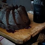 How to bake a red wine cake photo