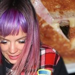 Lily Allen gets so drunk she forgets she made and ate a croque monsieur after night out photo