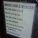 Are drinkers turned off by bar dress codes? photo