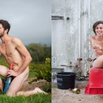 Check out this calendar featuring nude French wine harvesters photo