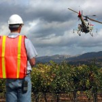 Drones could become familiar sight over Wine Country vineyards photo