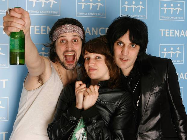 Kasabian and Noel Fielding attack boring bands who prefer chicken and broccoli to booze photo