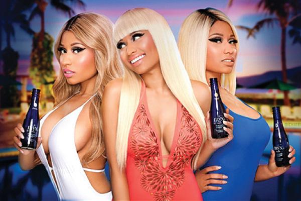 Rapper Nicki Minaj launches fizzy wine brand in the UK photo