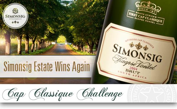 Simonsig Estate has Special Day at 2014 Amorim Cap Classique Challenge photo