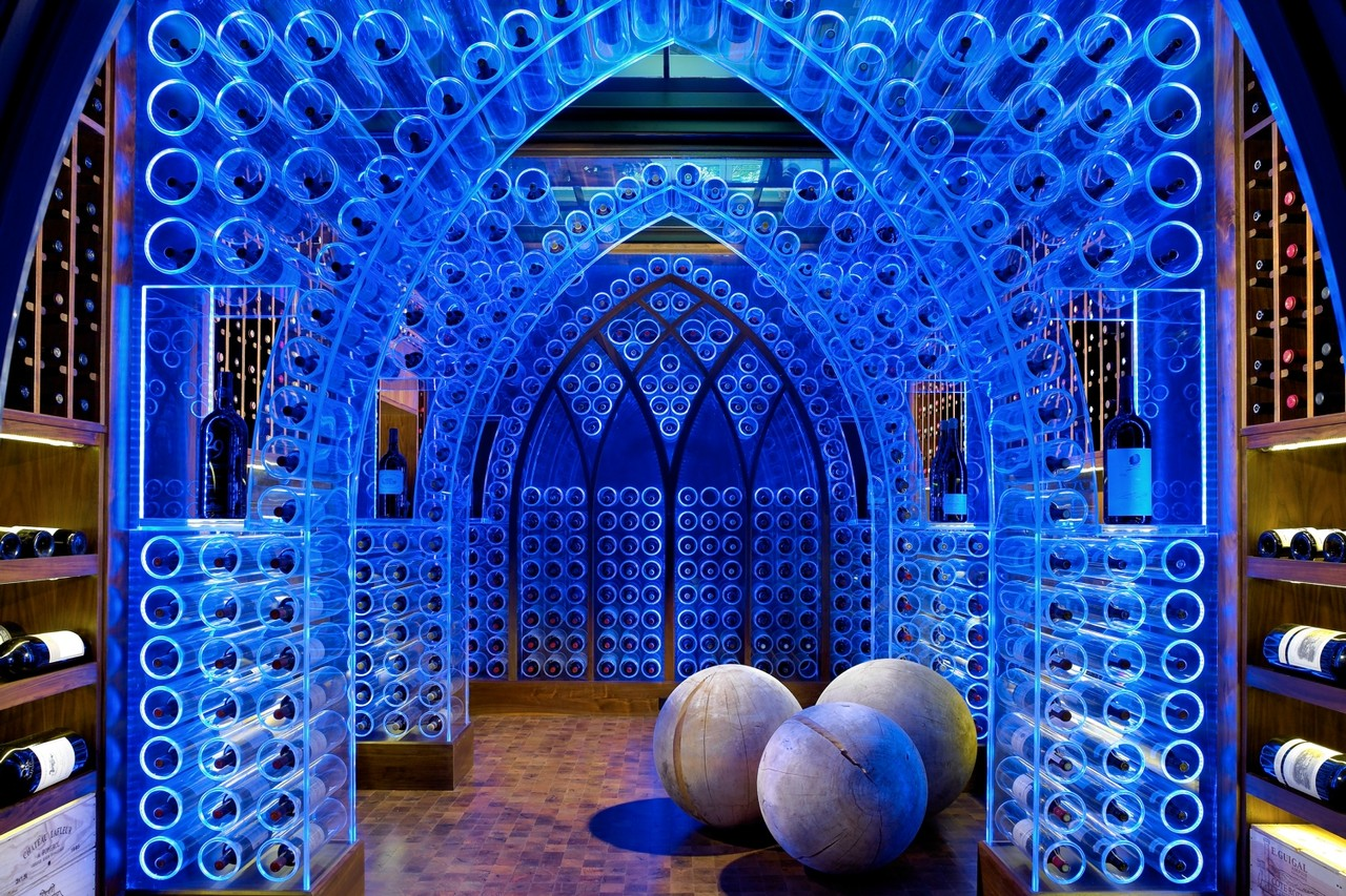 Luxury Wine Cellars Rise Up photo
