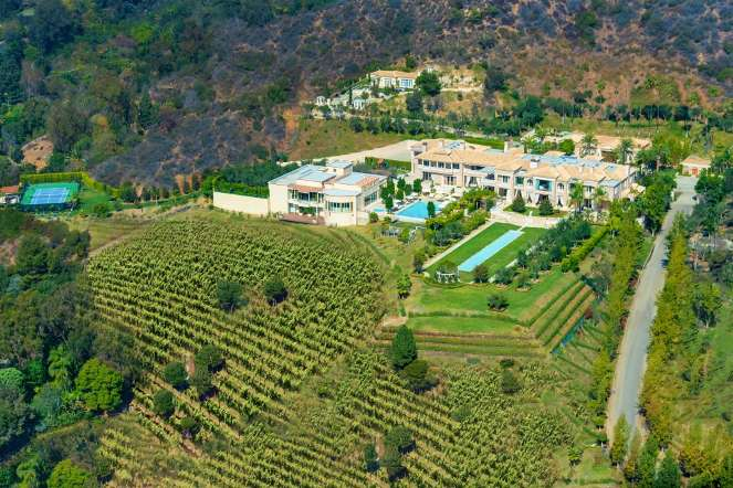 Most Expensive Home to Hit the Market with 3 000 bottle Wine Cellar photo