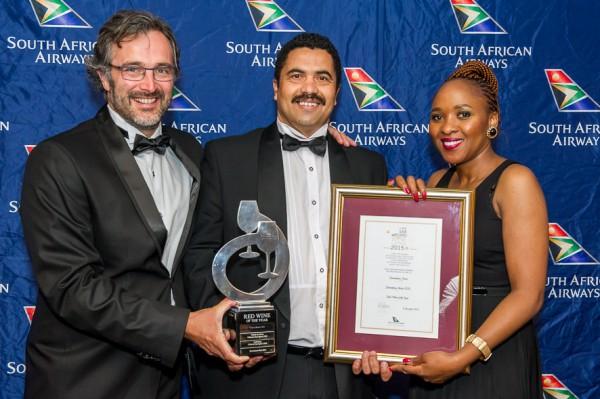 Hartenberg Flies High at the 2015 SAA Wine Awards photo