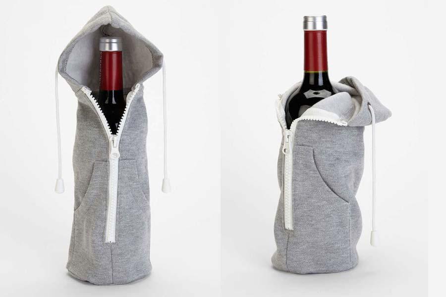 Wine Bottle Hoodie photo