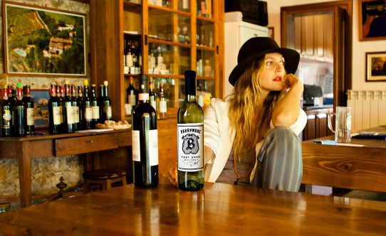 An Evening Drinking Wine With Drew Barrymore photo