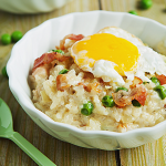 Bacon and Egg Risotto photo
