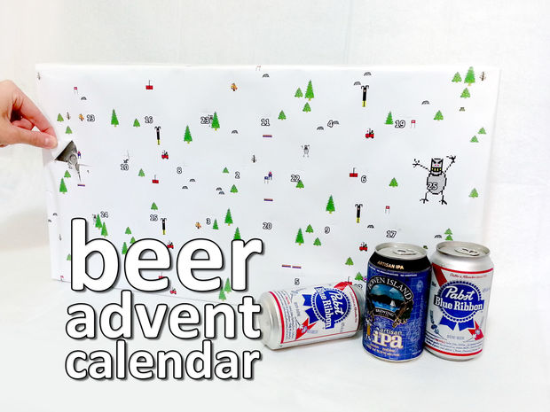 Countdown to Christmas Like an Adult with a DIY Beer Advent Calendar photo