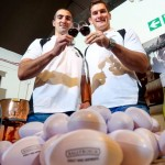 Rugby stars Ruan Pienaar and Robbie Diack plan to score with new fine wine range photo