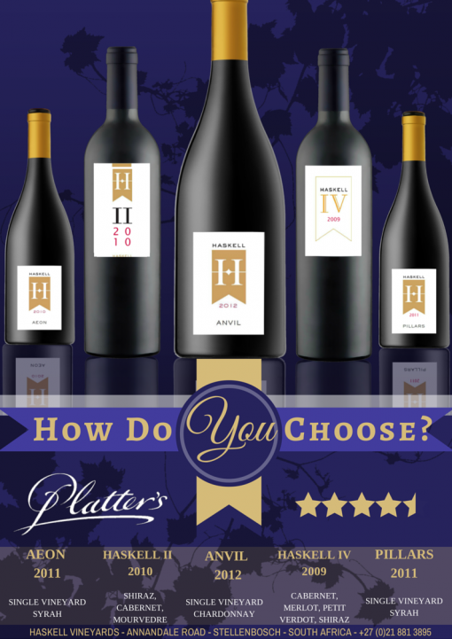 How do you choose between the wines of Haskell? photo