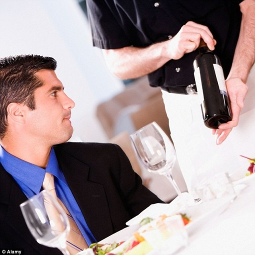 How not to look like a fool when ordering wine at a business dinner photo