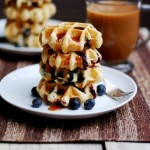 Blueberry and Brie Waffles photo