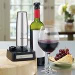 Cordless wine preserving tool photo