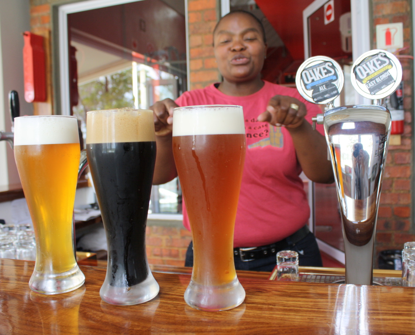 South Africa's 'all-girl' Brewery Wins Fans photo