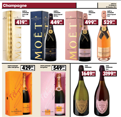 champage ultra The fanciest Champagne cocktails to serve this festive season
